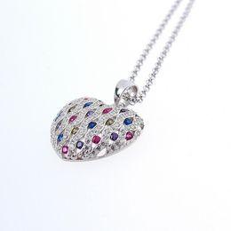 Wholesale Nscd Diamond Wedding Sets - women's fashion jewelry 925 sterling silver jewelry NSCD Synthetic Diamond Engagement Wedding Pendants necklace fine bridal Jewelry sets 632