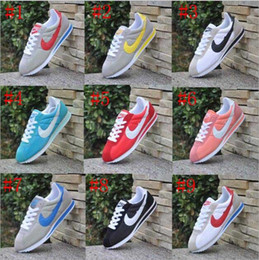 Wholesale Us8 Female Male - hot sell! 2016 classic yin and yang male and female spring autumn casual shoes racer shoes Cortez Shoes Leisure Nets size 36-44