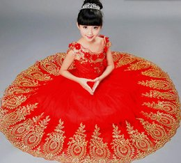 Wholesale Hand Made Chinese Dress - Typical Chinese wind restoring ancient ways fashion style in combination with dress aureate embroider sequins flowers by hand decorative