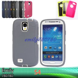 Wholesale Tire For S4 - Tire Robot Hybrid Heavy Duty Rugged Shockproof Hard plastic Soft Silicone Case Skin Cover For Samsung Galaxy S4
