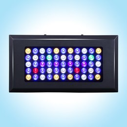 Wholesale led reef tank lighting - Full spectrum Dimmable165w led aquarium light for fish tank Coral reef Aquarium Led Lighting Marine plants grow Dropship