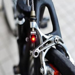 Wholesale High Tails - Portable Mini Brake Bike Light Mount Tail Rear Bicycle Light Cycling LED Light High Brightness Waterproof red LED lamp BL1901