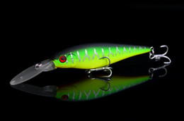 Wholesale Deep Diving Fishing Lures - Saltwater Edition Fishing Lure Deep Dive Minnow Bass Fish Slowly Sinking 10cm 10g Japan Evergreen Sledge-7
