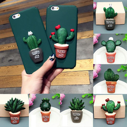 Wholesale Decorations For Phone Cases - Cactus Plant Phone Case Flat Back Resin Scrapbooking Craft Flatback Patch For DIY Phone Case Clothing Decoration