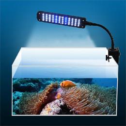 Wholesale Led Moonlight Aquarium - Underwater Waterproof 48 LED 3 Modes Aquarium Clip Lamp Lighting Moonlight Fish Tank