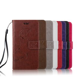Wholesale Book Wallet Iphone Case - Wallet Cases Luxury Book Style PU Leather Flip Case Cover coque For iPhone samsung sony ShockProof Bags With Lanyard