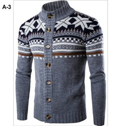 Wholesale Beautiful Crochet - New Arrival Men Sweater 2017 Winter New Design Warm Comfortable Beautiful Designs 4 colors Free Shipping