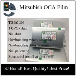 Wholesale Oca Optical Clear Adhesive - 250um OCA Optical Clear Adhesive for iPhone 5 5S 5C 4 4s 6 6s 7 plus Optical Clear Adhesive Glue Sticker OCA Film For Touch Glass Lens