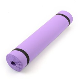 "Wholesale Yoga Thick Mat - 2016 68""x24""x0.24"" 6mm Thick yoga mat Pad Non-Slip Lose Weight Exercise Fitness Indoor mat Free Shipping"