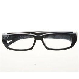 Gafas de video dvr grabadoras online-32 GB HD DVR 720x480P Gafas de la cámara Gafas Mini DV Cámara de seguridad Grabador de audio Video Videocámara Videocámara portátil DVR