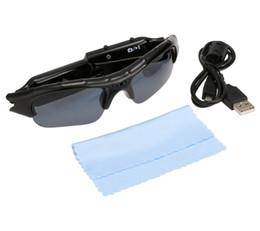 Wholesale Camera Sunglasses Sports - 2016 Hot Digital Audio Video Camera DV DVR Sunglasses Sport Camcorder Recorder Portable Mini Camcorder Stereo MP3 58