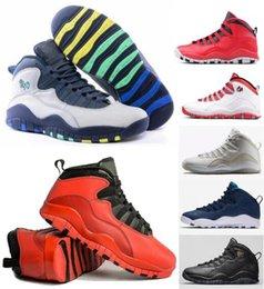 Wholesale China Winter Fashion - Retro 10 Basketball Shoes Women Man Fashion Superstar China Retros X Sport Canvas Real Authentic Men