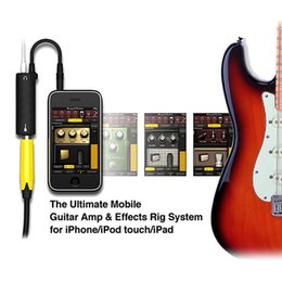 Wholesale Guitars Amps - Good Quality Multimedia Guitar Link Audio Interface AMP Rig System Guitar Effects Pedal Convertor for iPhone iPad iPod