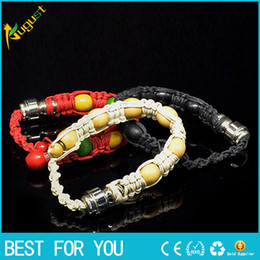 Wholesale Wholesale Beads For Bracelets - bracelet bead smoking pipe for tobacco discreet sneak a toke click n vape