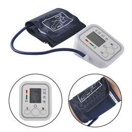 Wholesale Digital Upper Arm Sphygmomanometer - Arm Blood Pressure Pulse Monitor Health care Monitors Digital Upper Portable Blood Pressure Monitor Meters Sphygmomanometer 0613006