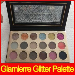 Wholesale Glow Solar - Glamierre Solar Glow eyeshadow palette eyeshadow 18 color Ultra Pigmented eye shadows matte shimmer eyeshadow free shipping