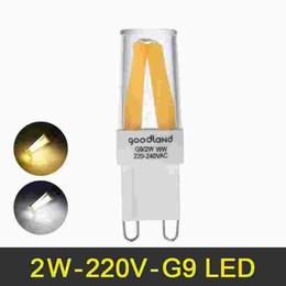LED G9 Lâmpada 2 W 220 V Mini G9 Candelabro LED Lâmpada Regulável Lampada LED Iluminação Substituir Incandescente G9 luzes cheap replacing incandescent bulbs de Fornecedores de substituindo lâmpadas incandescentes