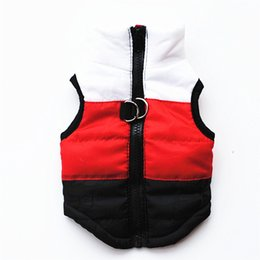 Wholesale Dog Harness Letters - Warm Dog Clothes Pet Coat Vest Harness Puppy Costume Apparel Pet Dog Clothes Jackets Outfit For Dog Chihuahua 15S1