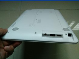 Wholesale Dual Celeron - 14 inch Dual Core Intel Laptop L7 model No black or white color in stock window 7 operation system preinstalled