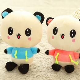 Wholesale Kawaii Panda Plush - 18CM Cute Dress Panda Plush Toys Kawaii Hot Korean Stuffed Anime Plush Toys The Panda Plush