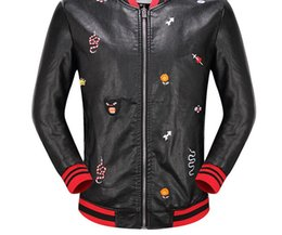 Wholesale Genuine Leather Jackets For Mens - Luxury Brand Designer hoodies for men women Italy Fashion animals Donald Tiger Print Men's Hoodies & Leather clothing Palace mens jackets