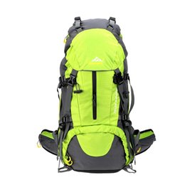 Wholesale Outdoor Backpack 45l - 45L+5L Large Packsack Climbing Camping Hiking Bag Travel Backpack Outdoor Sport Backpack Mountaineering Mountain Men Bag Shoulder Backpack