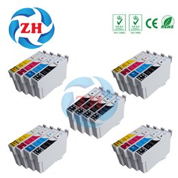 Wholesale Epson Cartridge Set - T1291 T1292 T1293 T1294 T1295 Ink cartridges(5 sets) compatible for Epson SX235W SX425W SX435W SX438W SX445W SX525 printer
