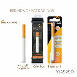 Wholesale Electronic Cigar Pack - 600 puff 300mAH Disposable E Cigar disposable electronic cigarettes single disposable e- cig Blister pack Wholsesale