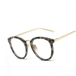 gafas transparentes de gran tamaño al por mayor Rebajas Al por mayor-Nuevo Oversized Eye Glasses Frames For Women Marca Desinger Vintage Eyeglasses Men Frame Claro lente de lectura gafas ópticas Eyewear