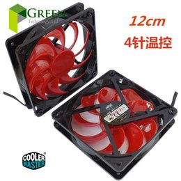 Wholesale Cooler Cooling 12cm - The original Cooler Master 12025 120MM 12cm Computer case CPU Cooling fan 12V 0.32A fan with PWM 4pin