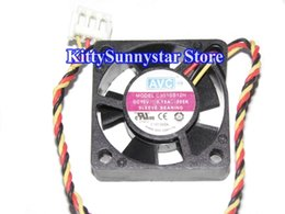 Wholesale Avc Fan Cpu - AVC 3010 C3010S12H 12V 0.1A 3Wire Silent Fan,HDD Fan,Notebook CPU Cooler Fan,Cooling Fan