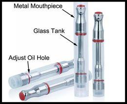 2019 atomizador de óleo de hash 0-2.5mm buraco tamanho cartucho de vidro atomizador bud toque mini e cigarro vape caneta 510 thread hash óleo de mel mini e cigarro fumar