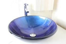Wholesale Wash Basin Bathroom Glass Sinks - Glass Basin Vanity bathroom wash sink Wash Basin Glass Bowl glass sink bowl bathroom furniture N-794