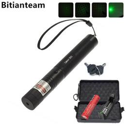 Professional Powerful 303 Green Laser Pointer Pen Laser Light With 18650 Battery,Retail Box Focus Burning Wood Matchs ? partir de fabricateur