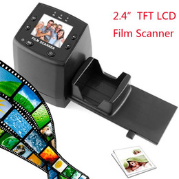"""Wholesale Digital Photo Slide - 2.4"""" TFT LCD Negative Photo Scanner 35mm Slide Film Scanner Converter Convert your film into Digital JPG JPEG Format"""