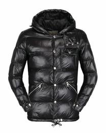 Wholesale Luxury Black Velvet Jacket - 2017 new men's brand of high quality thick warm wind jacket sports Hoodie detachable elastic hem jacket winter coat cotton men's luxury