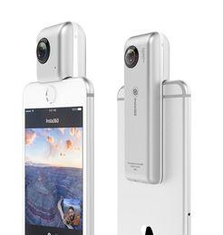 Wholesale Lens Panoramic - Insta360 Nano 3K HD 360 Panoramic Camera VR Camera 210 Degree Dual Wide Angle Fisheye Lens 360 Camera for iPhone 7 7+ 6 6s 6+