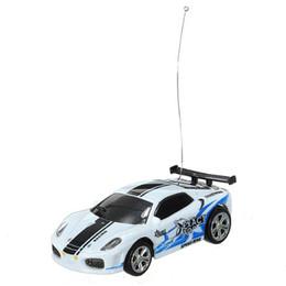 bambino elettrico della batteria elettrica Sconti All'ingrosso - HOT Mini mini RC auto RC 1:58 scatola di bobine serie SHEN QI WEI bianco nero