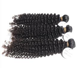 8A Indien Cheveux Crépus Kinky Cheveux Bouclés Weave Sans chimique Naturel Traités Dyeable 8-30inch En Stock 3pcs / lot ? partir de fabricateur