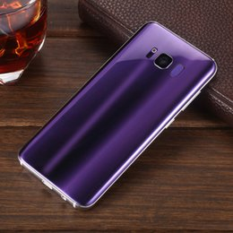 Wholesale Usb Real 4g - Goophone S8 Full Sreen 5.8 Inch Curve Screen Real Rom8GB Ram1GB Quad Core MTK6580 Android 7.0 3G Smartphone Show Fake 4G Unlocked Cellphone