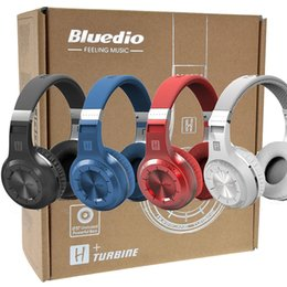 Wholesale Mobile Streaming Music - Bluedio HT(shooting Brake) Wireless Bluetooth 4.1 Stereo Headphones Built-in Mic Handsfree for Mobile Calls and Music Streaming DHL Free