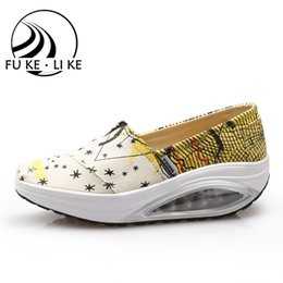 Wholesale Fitness Trainers Shoes - Wholesale-2016 new fitness Shoes walking Female shoes breathable Fitness shoes Lady trainers shoes