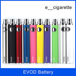 Wholesale Ce4 Ce5 Electronic Cigarette - EVOD Battery 650mah 900mah 1100mah colorfull EVOD Battery for MT3 CE4 CE5 CE6 Electronic Cigarette E cig Kit