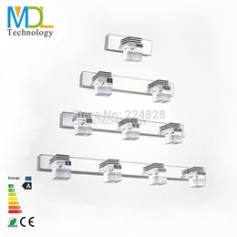 Wholesale cool white led mirror light - LED Mirror Light 3W 6W 9W 12W AC110-240V Warm White Cool White Hotel Bathroom Washroom Wall Spot light makeup mirror led light