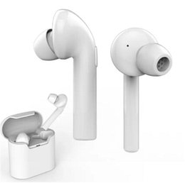 Wholesale Fast Phone Case - Fast Shipping Air 7E TWS Bluetooth Earbud Mini Dual In-Ear Wireless Earphone V4.2 with Mic and Charging Case for Samsung Smart Phones