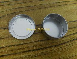2019 tee-zinn-container 100pcs / lot geben Verschiffen 20g Metallkasten 20ml Aluminiumglas-Lipgloss Behälter-Tee-Zinn-Kosmetik-Verpackungsflasche frei günstig tee-zinn-container
