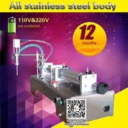 Wholesale Liquid Filling Machines - One piston fill machine for liquid water filling machine hot sale for commercial use table top filler