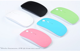 Wholesale factory optical - Factory outlets Slim USB wireless mouse apple neutral office 2.4G Optical Mouse
