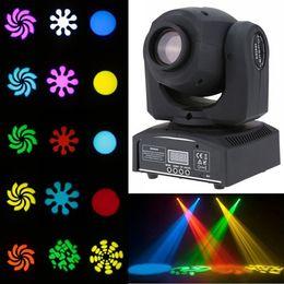 Wholesale Led Disco Spot - Professional DMX-512 Led 10w Mini Spot Light 9 11 Channel For Stage Disco Dj Party Dance