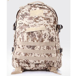 Wholesale Hydration Backpack Wholesale - Military Camouflage Tactical Assault Molle 3 Day Backpack Hydration Pack Outdoor Sports Camping Hiking Survival Travel Bag 35L